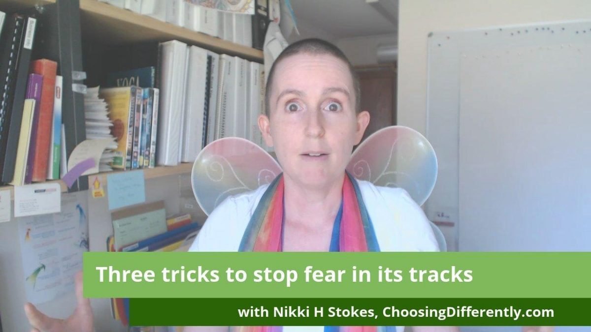 Video - Three Tricks to Stop Fear