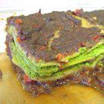 Vegan Lasagna with Spinach and Mushrooms
